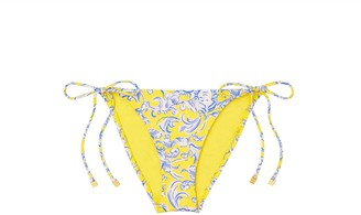 Tory Burch Printed String Bikini Bottom