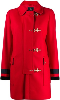 Fay Tailored Toggle-Fastening Coat