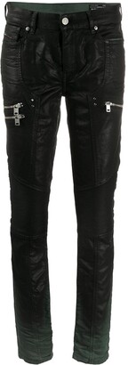 Diesel Zipped Pockets Skinny Trousers