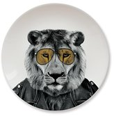 Mustard Ceramic Dinner Plate I Dishwasher safe I Dinnerware - Wild Dining Lion