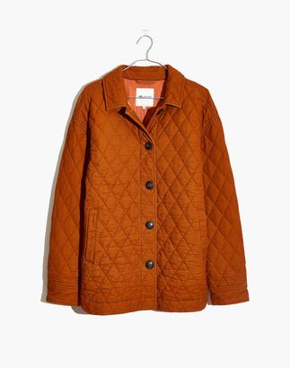 Madewell Quilted Corduroy Walton Shirt-Jacket