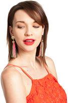 Trina Turk Gld/Mlt Tassel Post Earring