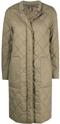 Closed Diamond Quilted Jacket