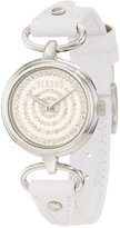 Versus By Versace Women's 3C68200000 Versus V Crystal Dial Genuine Leather Watch