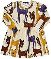 Mini Rodini DEER-PRINT DRESS