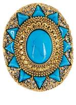 House Of Harlow Wari Ruins Cocktail Ring - Size 7