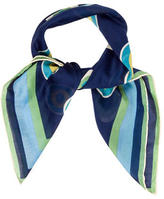 Salvatore Ferragamo Multicolor Printed Scarf