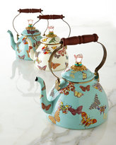 Mackenzie Childs MacKenzie-Childs Butterfly Garden Sky 2-Quart Tea Kettle