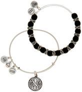 Alex and Ani Independence Beaded Bangle Bracelets - Set of 2