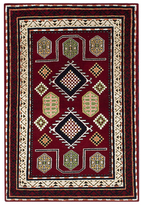 "Ecarpetgallery Royal Kazak Hand-Knotted Wool Persian Rug (4'2"" x 6'1"")"