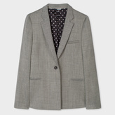 Paul Smith Women's Mixed-Jacquard Wool-Blend Blazer