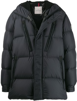Moncler Quilted Oversized Jacket