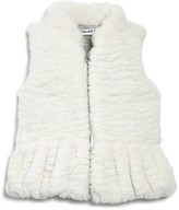 Splendid Infant Girls' Faux Fur Vest - Sizes 0-24 Months
