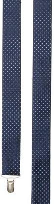 The Tie BarThe Tie Bar Navy Mini Dots Suspender