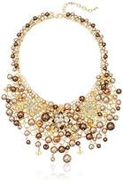"Carolee Metropolitan Club"" Statement Cluster Necklace"