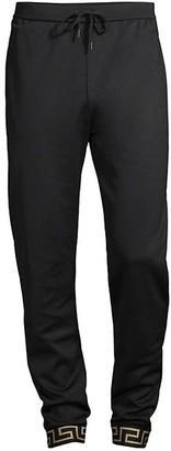 Versace Technical Jersey Pants
