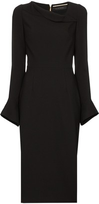 Roland Mouret Liman midi dress