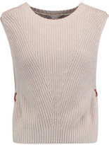 Autumn Cashmere Ribbed Cotton Sweater