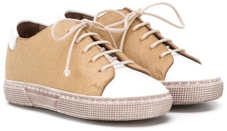 Pépé Textured Low Top Sneakers