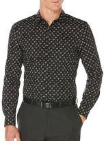Perry Ellis Regular-Fit Mini-Star Dot Print Shirt