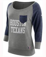 Nike Women's Houston Texans Vintage Crew Long Sleeve T-Shirt