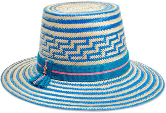 Yosuzi Solana Woven Straw Hat