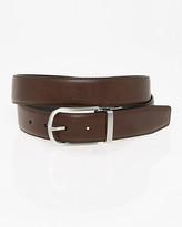 Le Château Reversible Leather-Like Prong Belt