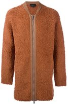 3.1 Phillip Lim faux fur zip cardigan