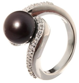 Pearl &Silver Ring Size P/Q (18.1 MM) Silver Pearl B3929G57