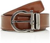 Salvatore Ferragamo Men's Gancio-Buckle Reversible Leather Belt