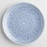 Blue Fez Tile Salad Plates Set of 4