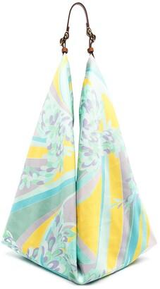 Emilio Pucci Abstract-Print Shoulder Bag