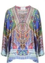 Camilla Bohemian Bounty Lace Up Shirt