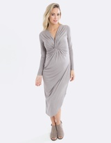 Knot Winter Maternity & Nursing Dress