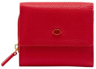 Lulu Guinness Classic Red Pop Out Lip Jodie Wallet