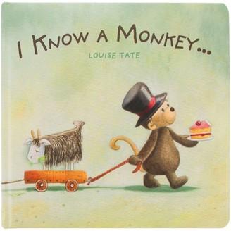Jellycat I Know A Monkey Children's Book