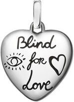 Gucci Blind for Love sterling silver charm