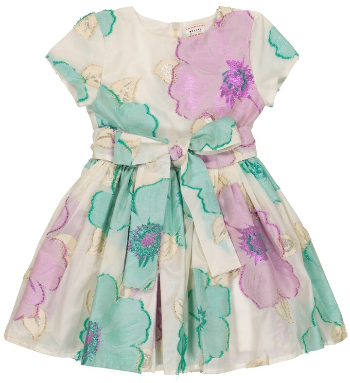 Morley Jelsa floral cotton-blend dress