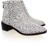 Loeffler Randall Felix white/Black Spotted Ankle Boot