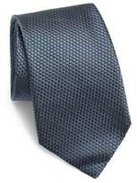 Corneliani Solid Quilted Silk Tie