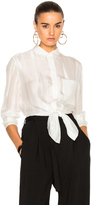 3.1 Phillip Lim Button Down with Waist Tie
