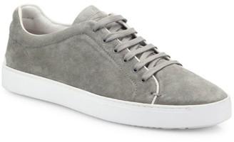 Rag & Bone Nefer Cemento Suede Sneakers