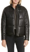 Veda Women's Power Puff Leather Jacket