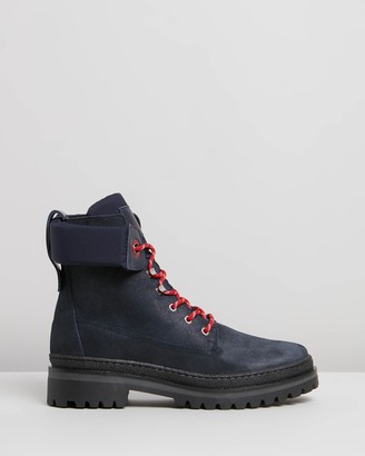 Tommy Hilfiger Sporty Outdoor Lace-Up Booties