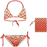 Missoni MissoniGirls Red Zigzag Bikini