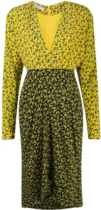 Philosophy di Lorenzo Serafini Floral Print Midi Dress