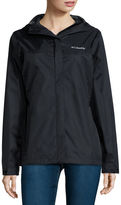 Columbia Grey Skies Long-Sleeve Waterproof Rain Jacket