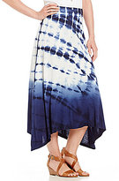 Intro Tie-Dye Knit Skirt