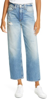Rag & Bone Rosa Distressed Boyfriend Jeans