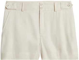 "Banana Republic Petite Linen-Cotton 3.5"" Short"